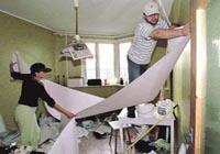 аренда квартир ремонт, ремонт в съемной квартире, ремонт в счет аренды квартир