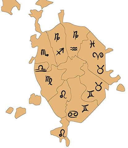 под каким знаком зодиака находится япония